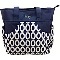 Baby Bucket Diaper Nappy Changing Bag (Dark Blue)