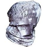 3D Fishing Face Sun Mask,Headwear,Head Wrap,Neck,Gaiter,Scarf,Tube Mask,Bandana Mask,Balaclava,Sport Hair Bands,Guys Headband for Running Hiking Cycling Motorcycling Riding Yoga,Great for Men&Women
