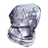 XINGZHE 3D Fishing Face Sun Mask,Headwear,Head
