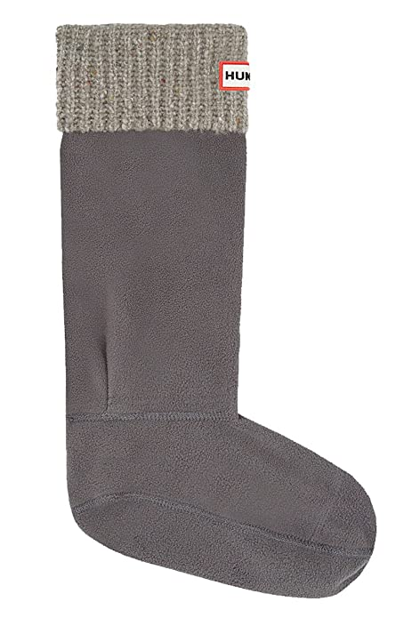 Hunter Calcetines para botas con moteado de granito UAS3004AAX-SLT -  Calcetines de forro polar para botas de agua 8456a5e36e769