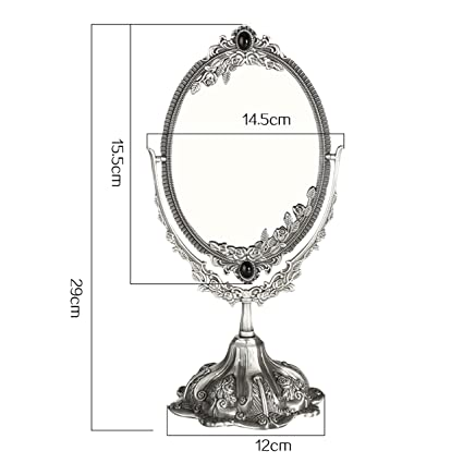 Amazon.com - DONGYUER Desktop Double Sided Makeup Mirror ...
