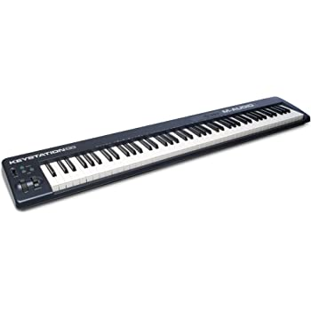 m audio keystation 88es 88 key usb midi keyboard controller with semi weighted keys. Black Bedroom Furniture Sets. Home Design Ideas