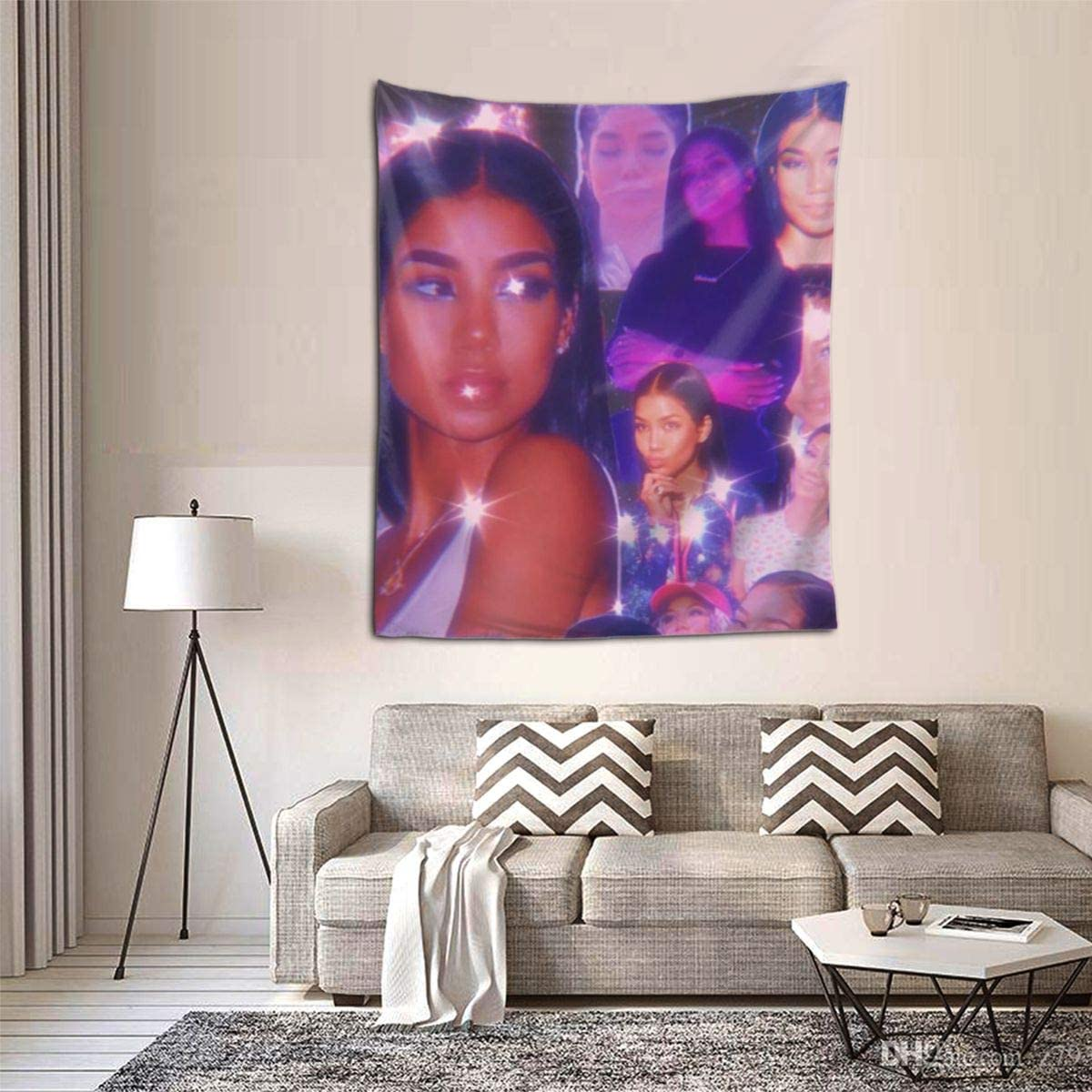 Jhene Aiko Tapestry Dorm Decor for Living Room Bedroom 51×60 Inches