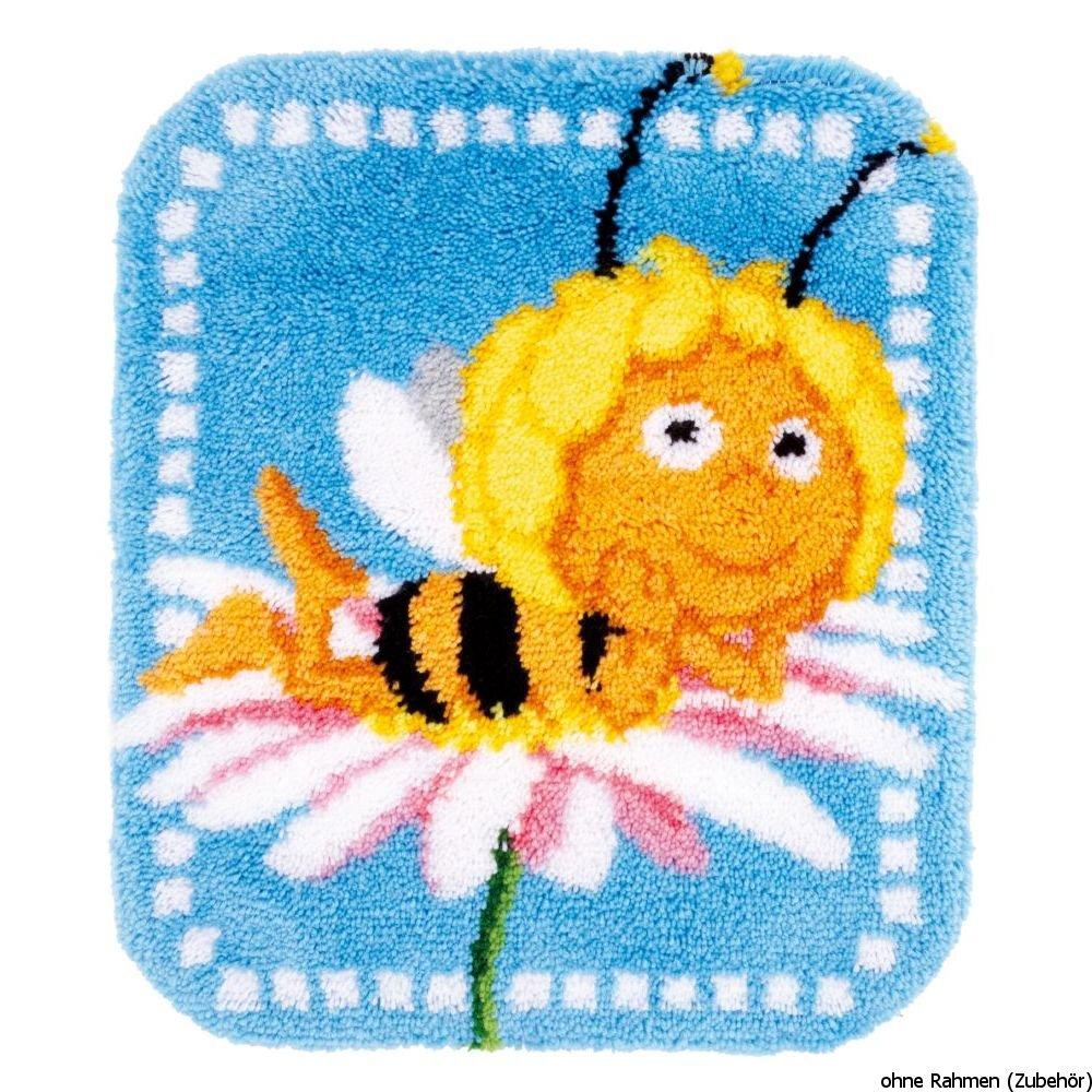 Vervaco Formteppich Maya ruht Sich aus Knüpfpackung, Baumwolle, Mehrfarbig, 55 x 65 x 1 cm Verachtert n.v. PN-0153826