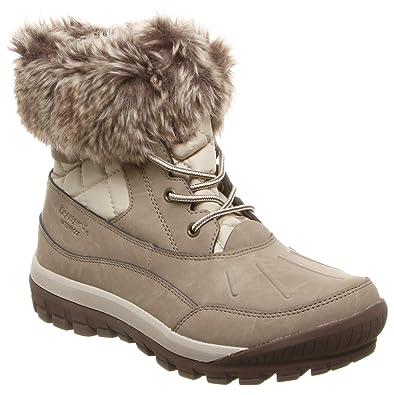 01c6e59aa6eb BearPaw Womens Becka Winter Boot Stone Size 6