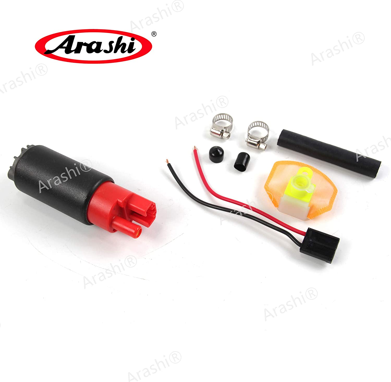 Arashi Fuel Gas Petrol Pump for KAWASAKI Ninja ZX6R ZX-6R ZX636 2003-2015 / Ninja ZX6RR ZX6-RR ZX-636 2003-2006 Motorcycle Replacement Accessories 2004 2005 2007 2008 2009 2010 2011 2012 2013 2014