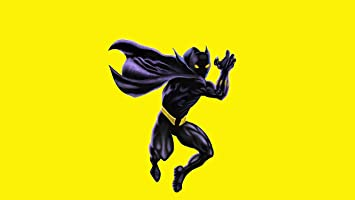 Black Wallpaper Batman Logo Black And Yellow Wallpaper