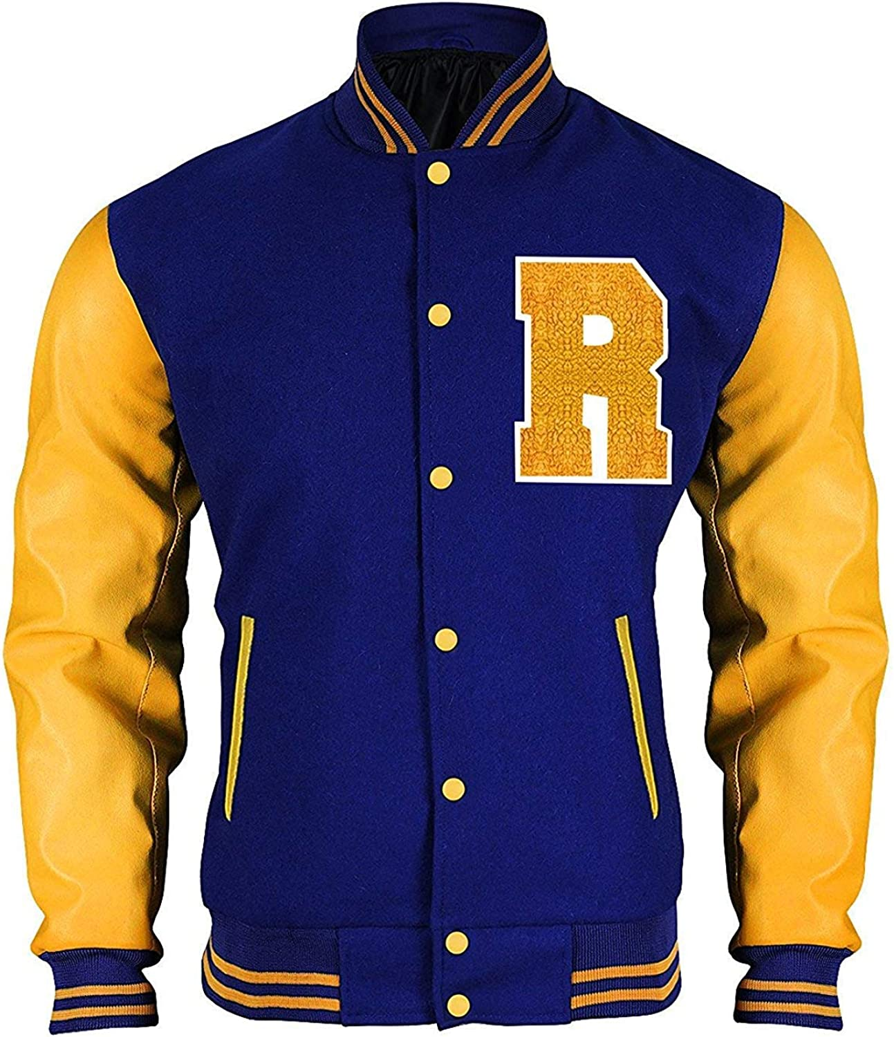 Fashion/_First Riverdale Giacca Archie Andrews KJ APA Varsity Letterman R Bomber