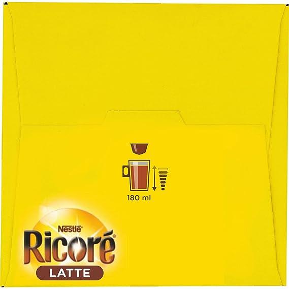 Nescafé Dolce Gusto ricoré Latte, Café con Chicorée sabor, Cápsulas de Café, 16 Cápsulas: Amazon.es: Salud y cuidado personal