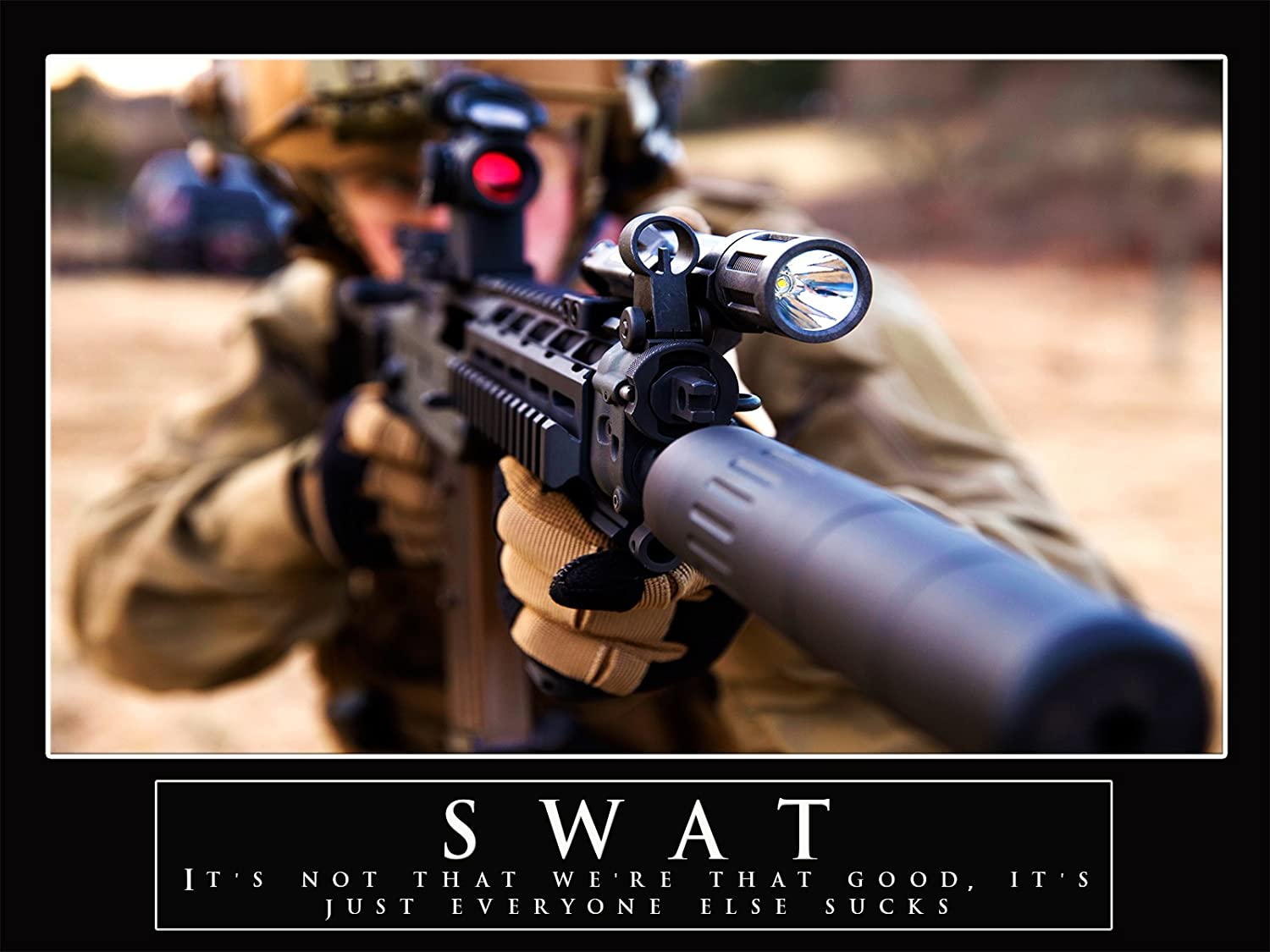amazon com swat poster police poster swat team police officer