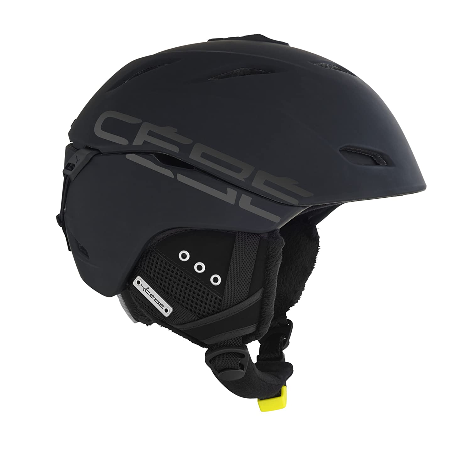 Amazon.com : Cebe CBH3 Atmosphere Deluxe Black Ski Helmet - 58-62cm : Sports & Outdoors