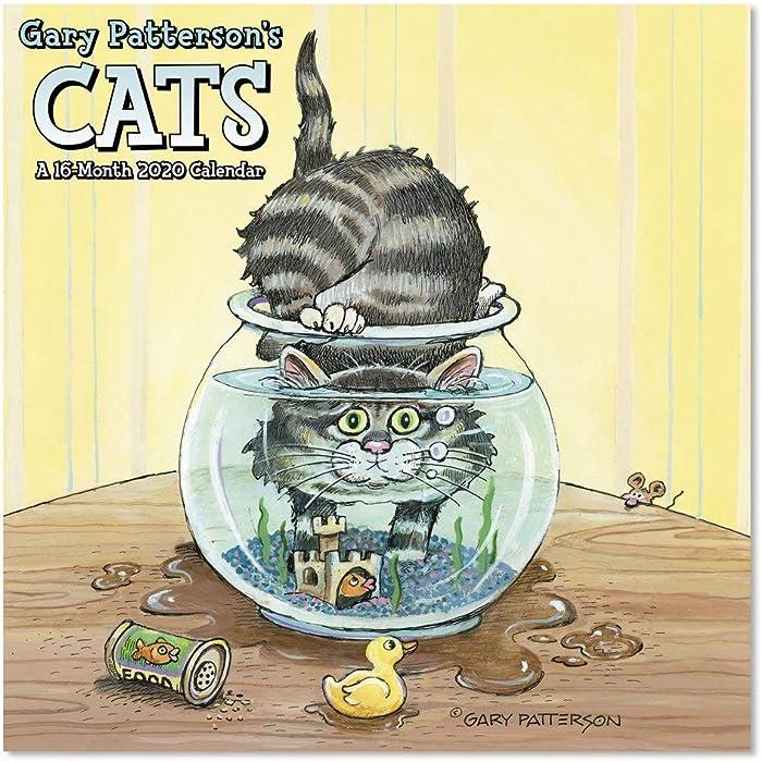 2020 Gary Patterson Cats Wall Calendar (DDD5502820)