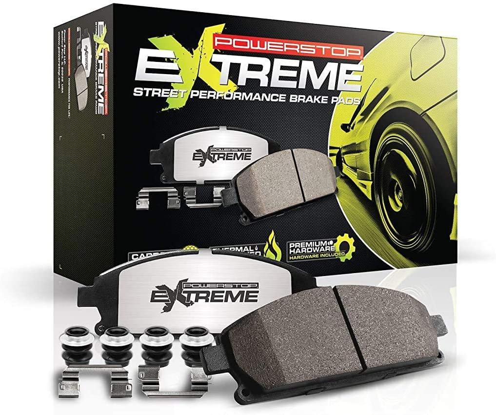 Power Stop Z26-1474A Z26 Carbon-Ceramic Front Brake Pad