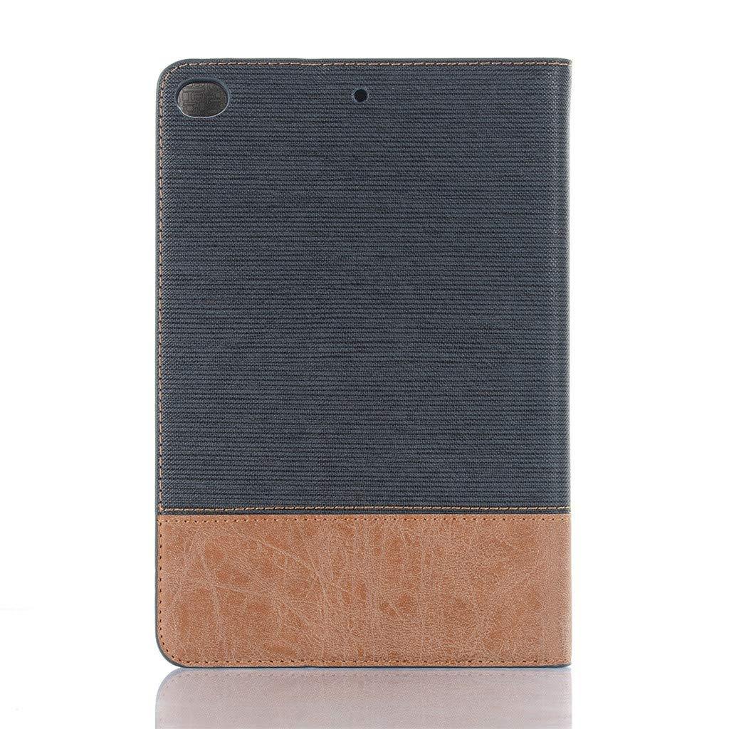 Huhu833 H/ülle f/ür iPad Mini 5 Kartenschlitz,Aufwachdunktionen Kompatibel mit iPad Mini 4 3 2 1 7,9 Zoll Ultra D/ünn Schutzh/ülle Leder Kratzfeste Case iPadh/ülle mit Kickstand