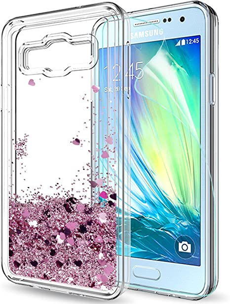 LeYi Compatible con Funda Samsung Galaxy A3 2015 Silicona ...
