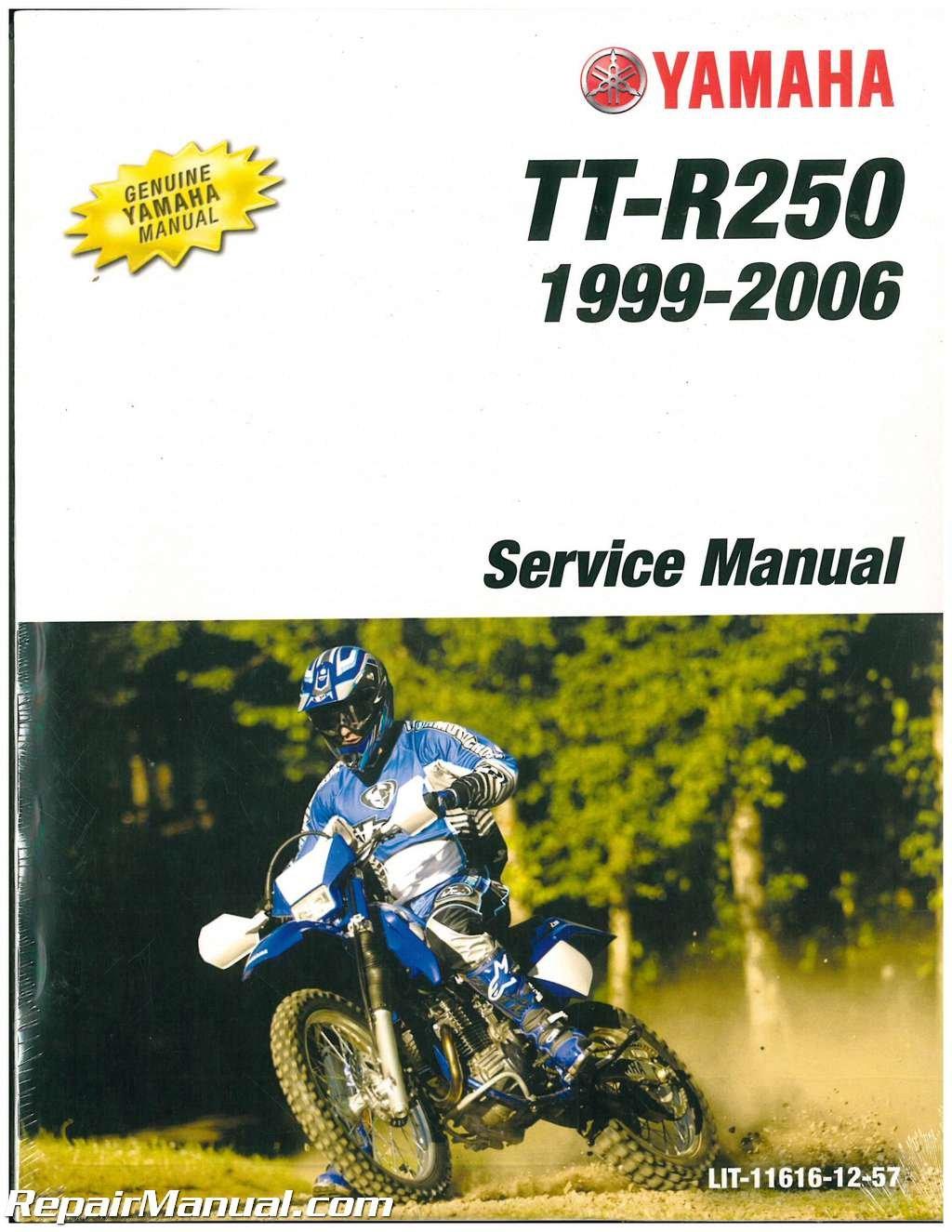 LIT-11616-12-57 1999-2006 Yamaha TTR250 Motorcycle Service Manual:  Manufacturer: Amazon.com: Books