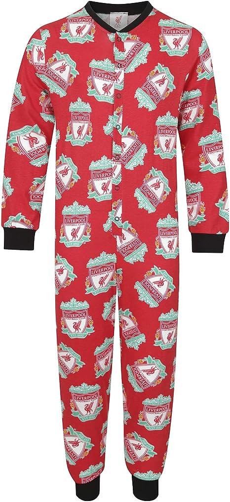 NEW Official Authentic Boys Liverpool FC Badge Pyjamas pajamas 4 to 12 Football