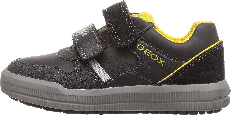 Geox Kids Arzach Boy 11 Velcro Sneaker