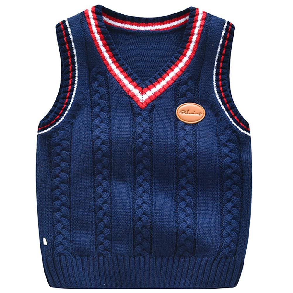 Blue Ocean Kids Argyle Sweater Vest-16//Large SV-255BOYS-Navy-16//Large