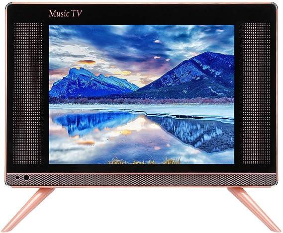 Fishlor Mini TV, Mini televisor portátil de 15 Pulgadas, TV LCD HD Sonido bajo, 1366x768 HDMI Smart TV Home Kitchen(UE): Amazon.es: Electrónica