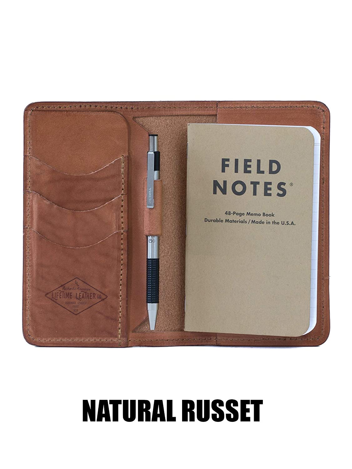Handmade in Arizona Personalized Leather Field Notes Wallet Field Notes Cover Moleskine Cover Passport Wallet
