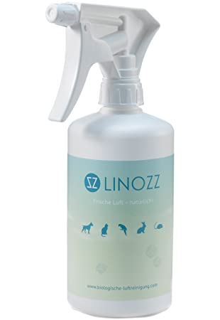 LINOZZ neutralizador de olores 500 ml Elimina los olores Animales – Optimal contra Perros olores en