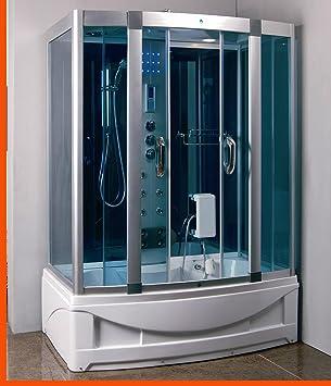 Amazon.com: Ducha de vapor habitación con Whirlpool tub ...