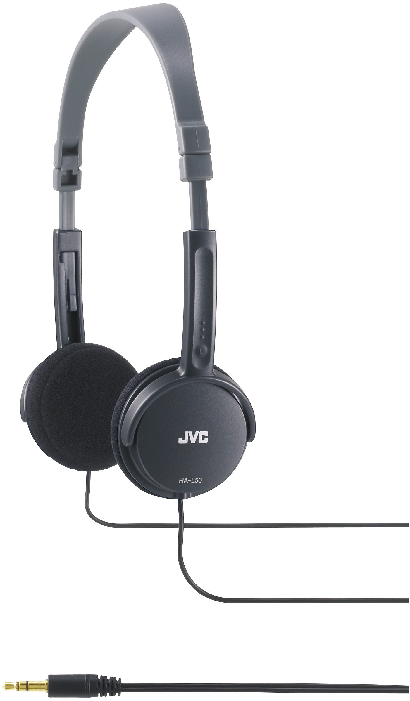 Auriculares JVC HA-L50B Negro Plegable Liviano Stylish HAL50