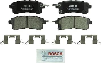2011-2017 Titan; Front 2014-2017 QX80; Nissan Bosch BP1509 QuietCast Premium Semi-Metallic Disc Brake Pad Set For Infiniti 2012-2017 Armada 2011-2013 QX56