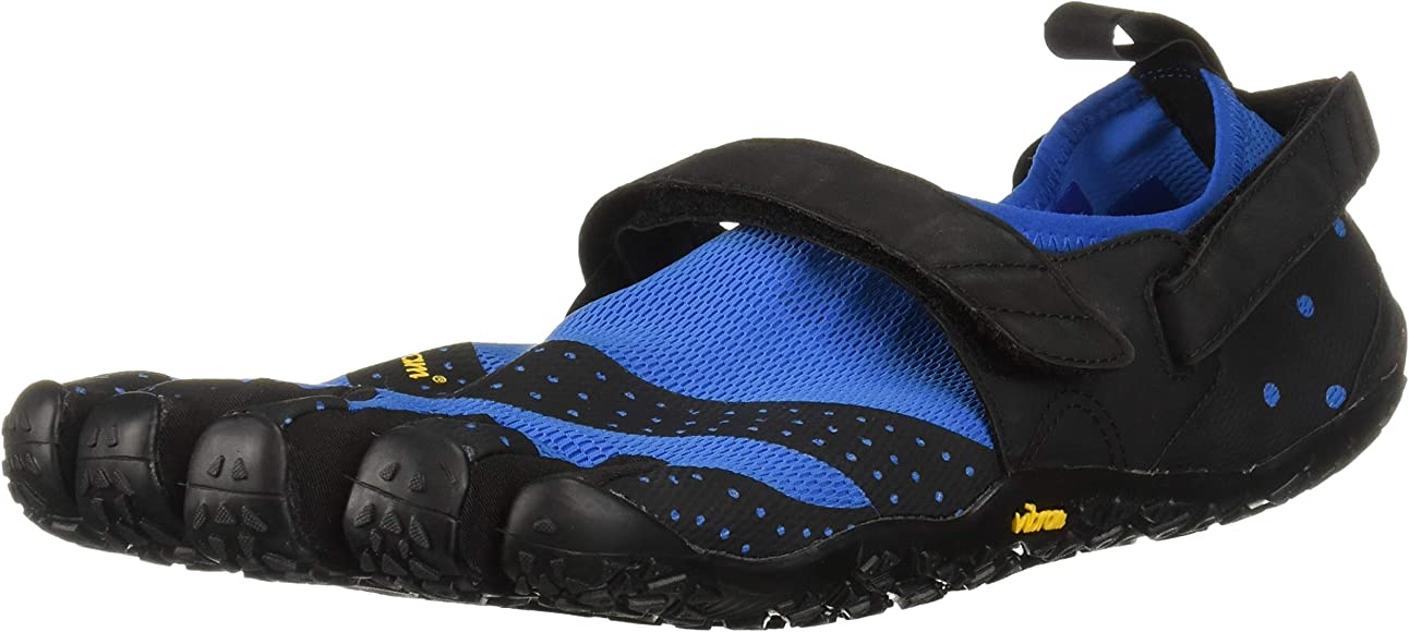 Vibram Five Fingers V-Aqua Mens Barefoot Black Grey Blue//Black Water Sports