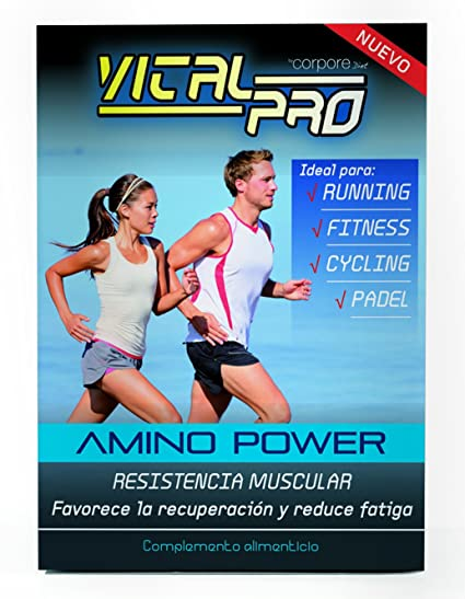 Vital Pro Cápsulas de Amino Power - 90 Unidades