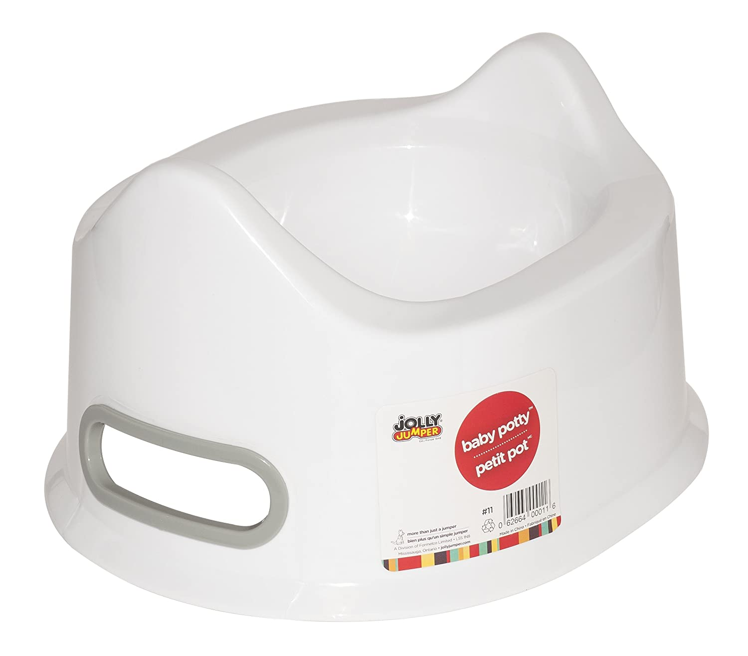 Jolly Jumper Baby Potty White 11