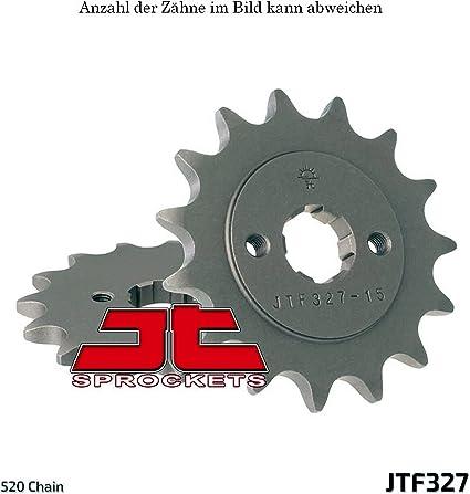 Ritzel Antriebsritzel 15-Zähne 520-Teilung Honda XL 125 V Varadero Bj 2001-2013