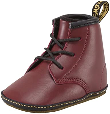 e66854e9f06c Dr Martens Baby Cherry Red Auburn Boots-Baby 2  Amazon.co.uk  Shoes ...