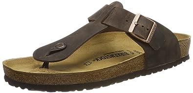sports shoes c7a1c 57d45 BIRKENSTOCK Herren Medina Zehentrenner, braun, 46 EU