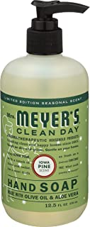 product image for Mrs. Meyer's Clean Day Liquid Hand Soap, Cruelty Free and Biodegradable Formula, Iowa Pine Scent, 12.5 oz