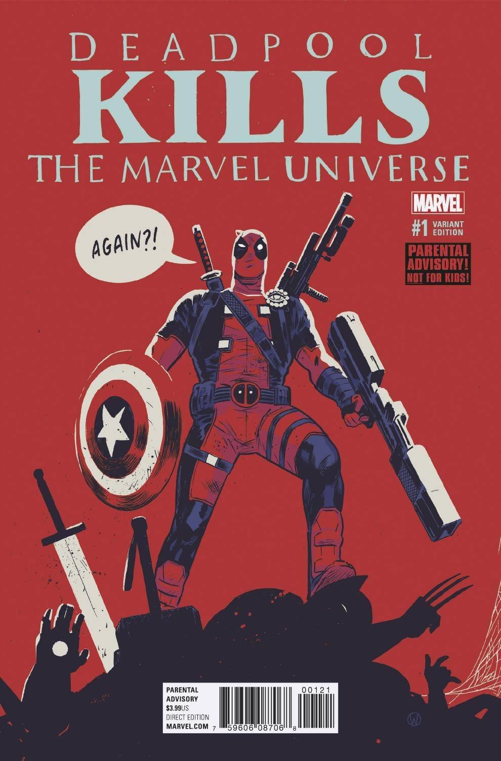 Deadpool, Deadpool Kills, Marvel Universe, Comics, Antihero, Superhero