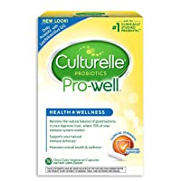 Culturelle Natural Health & Wellness Capsules 30 ea