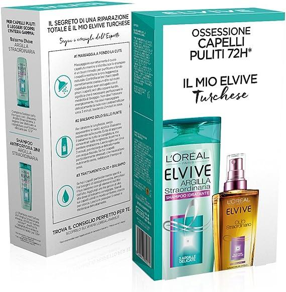 L Oréal Paris Elvive estuche Tratamiento pelo cabellos normales: Amazon.es: Belleza