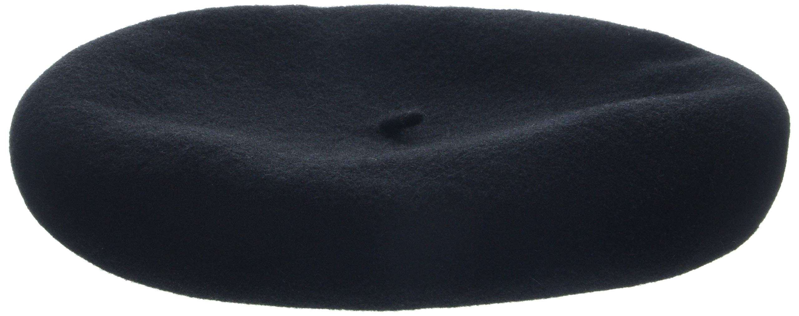 Kangol Men's Anglobasque Beret, From the Heritage Collection, Black (X-Large)