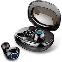 Motast Auriculares Inalámbricos, Auriculares Bluetooth 5.0 Mini TWS Cascos In-Ear IPX7 Impermeable Auriculares…