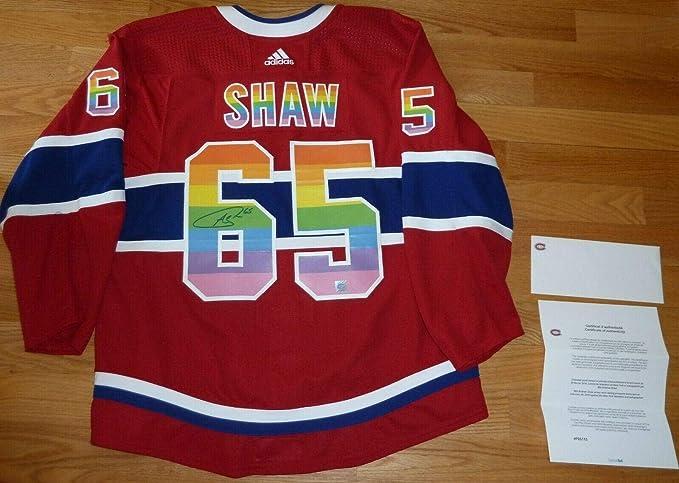 Andrew Shaw Montreal Canadiens Player Swingman Jersey