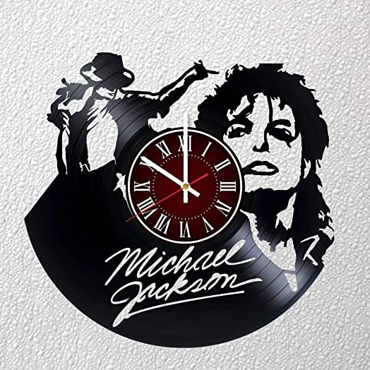 MICHAEL JACKSON 12 inches / 30 cm Vinyl Record Wall Clock