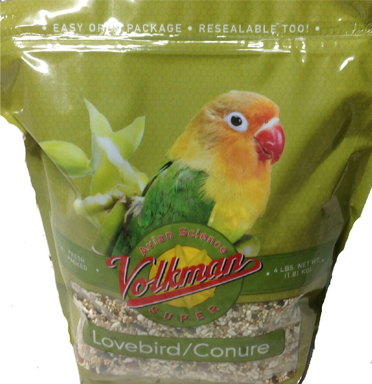 Volkman Avian Science Super Lovebird & Conure Diet Bird Food
