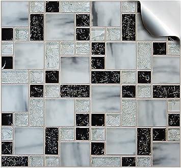 24 Stück Fliesenaufkleber Für Küche Und Bad (Tile Style Decals 24xTP 71    6in