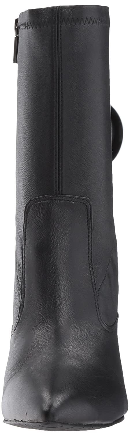Kenneth Cole New York Women's Galla Flared Pointed Toe Bootie with Flared Galla Heel Stretch Shaft Ankle Boot B073XK18V4 5.5 B(M) US|Black 131b14