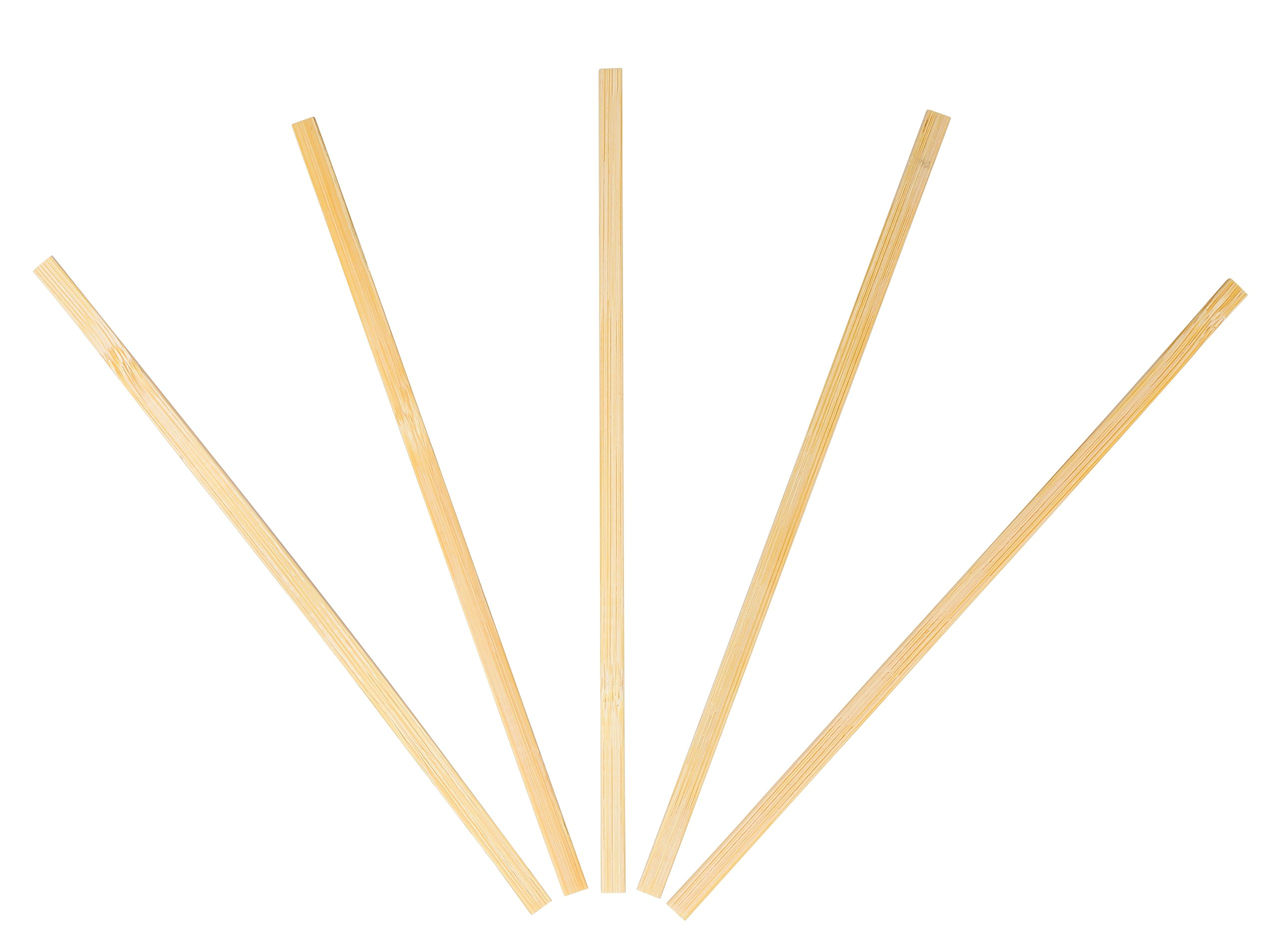 KingSeal Bamboo Wood Coffee Beverage Stirrers, Square End - 7 Inches, 4 boxes of 500 each, 100% Renewable and Biodegradable, Stronger and Thicker Than Standard Wood by KingSeal (Image #3)