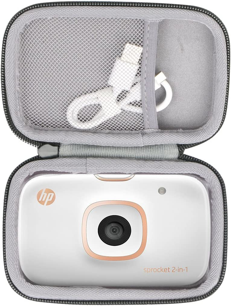 Hard Travel Case for HP Sprocket 2-in-1 Portable Photo Printer & Instant Camera by co2CREA