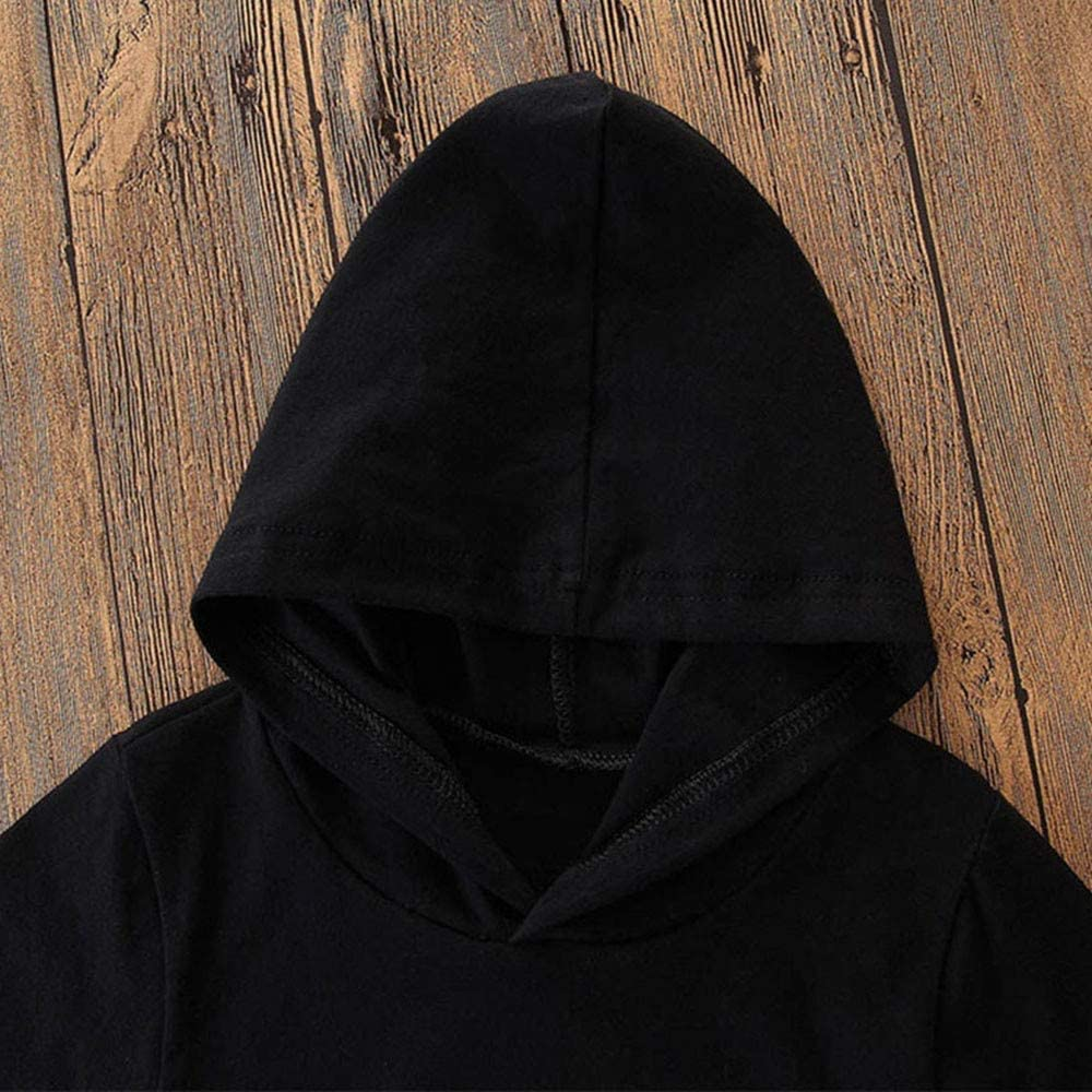 Hosen Herbst Winter Letter Print Pullover Tops 2pcs Kleidung XXYsm Baby Kapuzenpullover Outfits Kinder Hoodie Sweatshirt mit Kapuzen