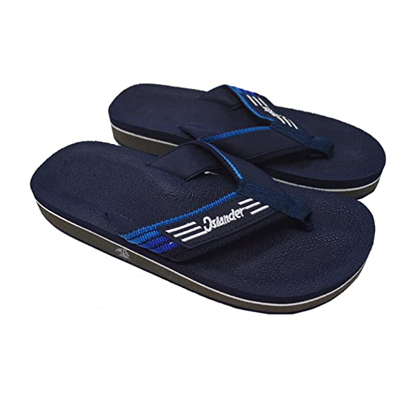 Unisex All-Weather Comfortable and Stylish Flip-Flop Sandals - Navy - M5/W7